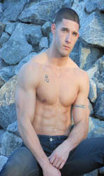 NJ Male Stripper Sebastian Todd, One of the Sexiest and Well Knows New Jersey Male Dancers